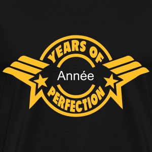 addieren Jahr  years perfection 3 logo  T-Shirts - Männer Premium T-Shirt