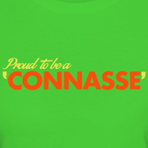 PROUD TO BE A CONNASSE Tee shirts - T-shirt Bio Femme