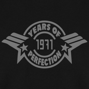 1971 years perfection logo anniversaire Sweat-shirts - Sweat-shirt Homme