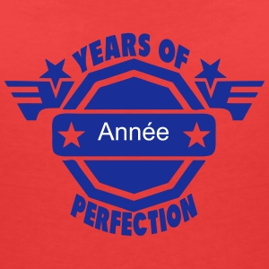 addieren Jahr years perfection logo 2  T-Shirts - Frauen T-Shirt mit V-Ausschnitt