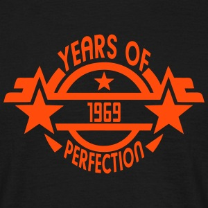 1969 years perfection logo anniversaire Tee shirts - T-shirt Homme