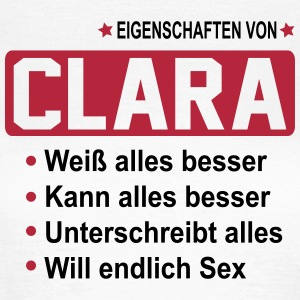 clara T-Shirts - Frauen T-Shirt
