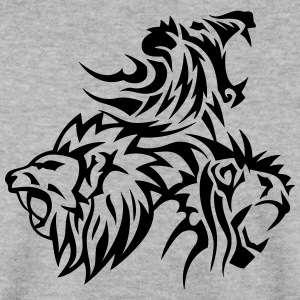 lion tribal tatouage dessin 14031 Sweat-shirts - Sweat-shirt Homme