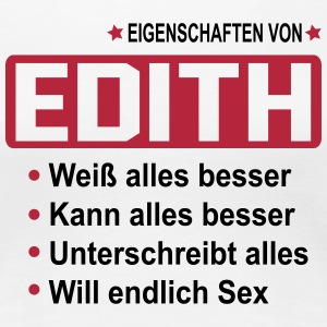 edith T-Shirts - Frauen Premium T-Shirt