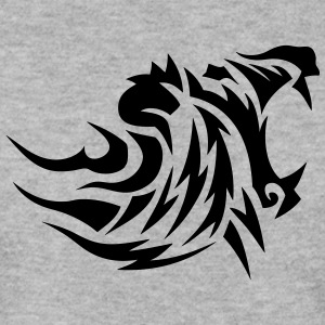 lion tribal tatouage dessin 14027 Sweat-shirts - Sweat-shirt Homme