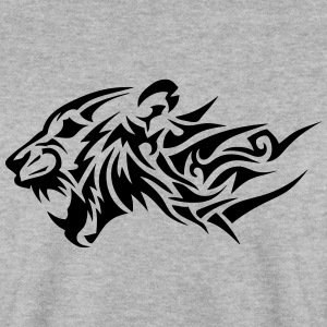 lion tribal tatouage dessin 14024 Sweat-shirts - Sweat-shirt Homme