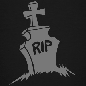 Kreuz Friedhof Grab rip in Frieden ruhen T-Shirts - Kinder Premium T-Shirt