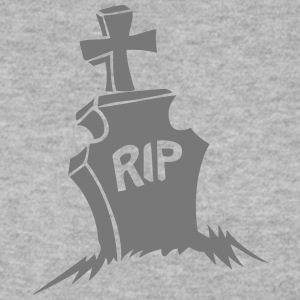 tombe rip croix cimetiere reste in peace Sweat-shirts - Sweat-shirt Homme