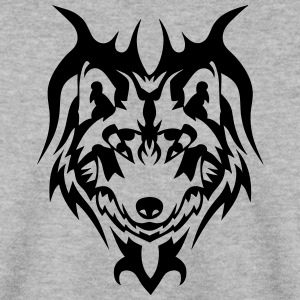 loup tatouage tribal animal sauvage Sweat-shirts - Sweat-shirt Homme