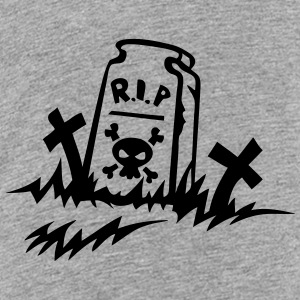 rip reste in peace tombe dessin Tee shirts - T-shirt Premium Ado