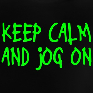 keep calm and jog on T-shirts - Baby T-shirt