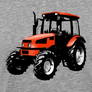 tractor red T-Shirts - Men's Premium T-Shirt