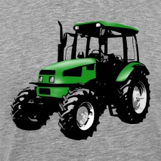 tractor green T-Shirts
