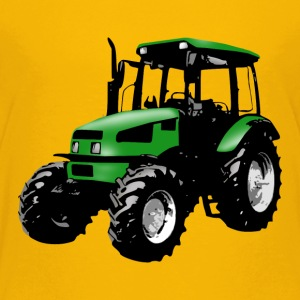 tractor green Shirts - Teenage Premium T-Shirt