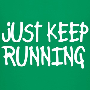 just keep running Skjorter - Premium T-skjorte for tenåringer