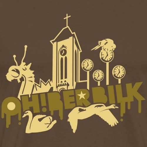 Düsseldorf T Shirt Oberbilk - Geschenkidee