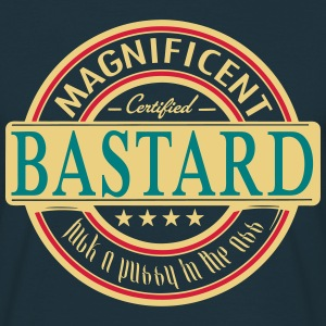 magnificent bastard - Men's T-Shirt