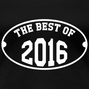 The Best of 2016 T-shirts - Vrouwen Premium T-shirt