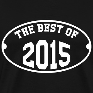The Best of 2015 Camisetas - Camiseta premium hombre