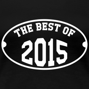 The Best of 2015 T-shirts - Vrouwen Premium T-shirt