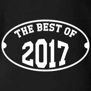 The Best of 2017 Camisetas - Body orgánico de maga corta para bebé