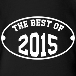 The Best of 2015 T-Shirts - Baby Bio-Kurzarm-Body