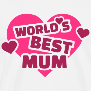World's best mum T-Shirts - Männer Premium T-Shirt