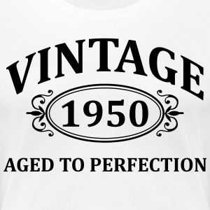 Vintage 1950 Aged to Perfection T-Shirts - Women's Premium T-Shirt