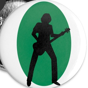 bassiste Badges - Badge petit 25 mm
