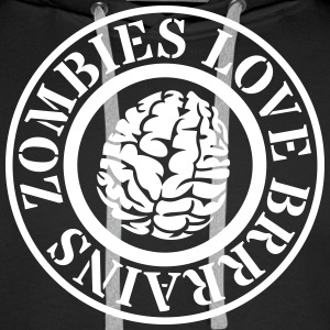 zombies zombies Sweat-shirts - Sweat-shirt à capuche Premium pour hommes