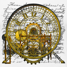 Steampunk Vintage Clock #2 T-Shirt