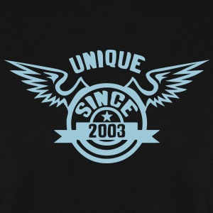 2003 annee unique since logo anniversair  Sweat-shirts - Sweat-shirt Homme