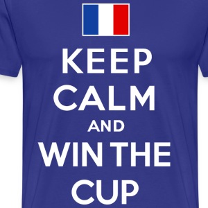 France - Keep calm & win - T-shirt Premium Homme