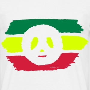 Vert Jaune Rouge - Peace and Love Tee shirts - T-shirt Homme