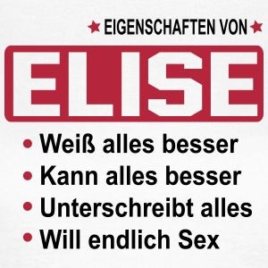 elise T-Shirts - Frauen T-Shirt