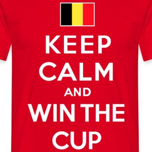 Belgique - Keep calm & win - T-shirt Homme