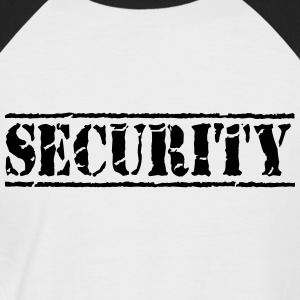 Security T-shirts - Kortærmet herre-baseballshirt