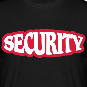 Security T-shirts - Mannen T-shirt