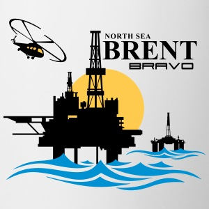 Brent Oil Rig Platform North Sea Aberdeen - Mug