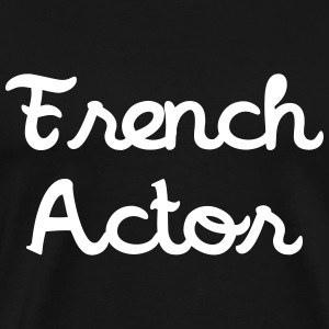 French Actor T-Shirts - Men's Premium T-Shirt