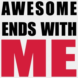 Awesome ends with ME Shirts - Kids' Premium T-Shirt