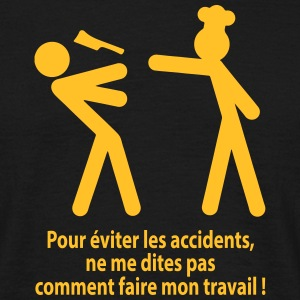 accident travail Tee shirts - T-shirt Homme
