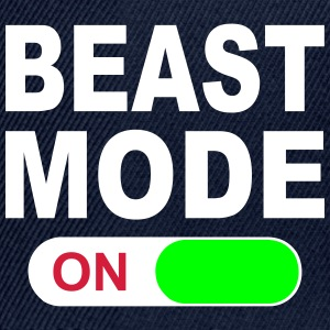 BEAST MODE ON Caps & Hats - Snapback Cap