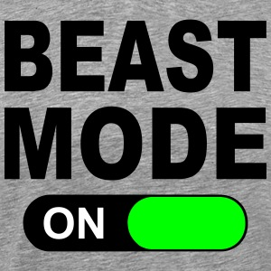 BEAST MODE ON T-Shirts - Men's Premium T-Shirt