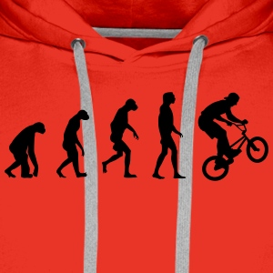 Evolution of BMX Pullover & Hoodies - Männer Premium Hoodie