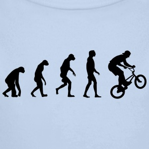 Evolution of BMX Hoodies - Longlseeve Baby Bodysuit