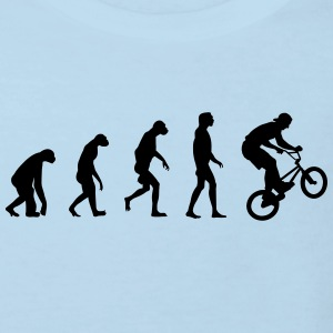Evolution of BMX Shirts - Kids' Organic T-shirt