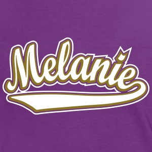 Melanie - T-shirt customised with your name T-Shirts - Women's Ringer T-Shirt