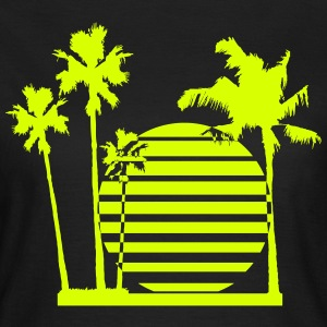 palmsun living on the beach T-Shirts - Women's T-Shirt