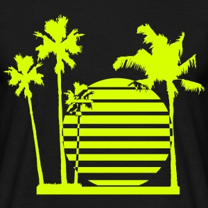 palmsun living on the beach T-Shirts - Men's T-Shirt
